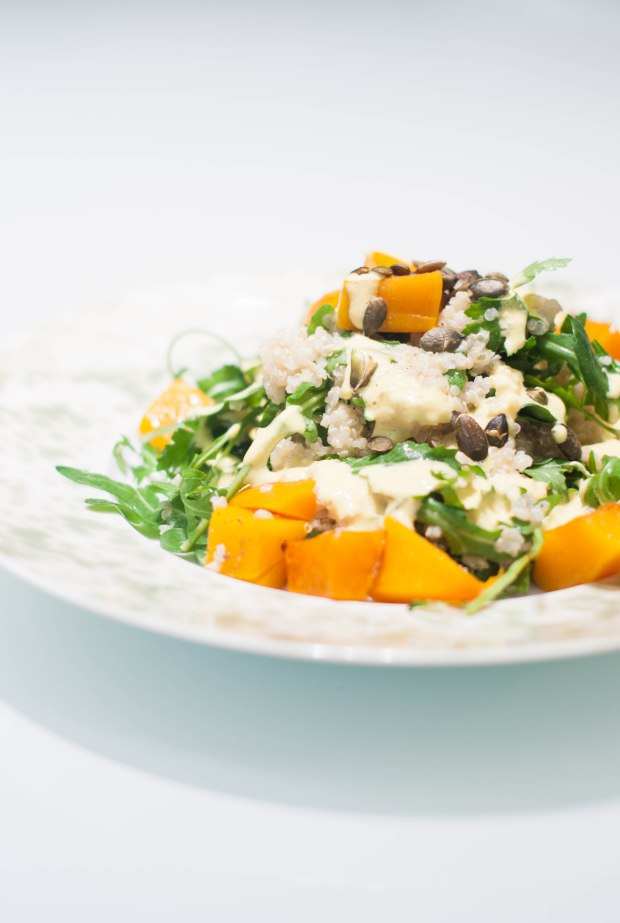 salade quinoa sauce d'or