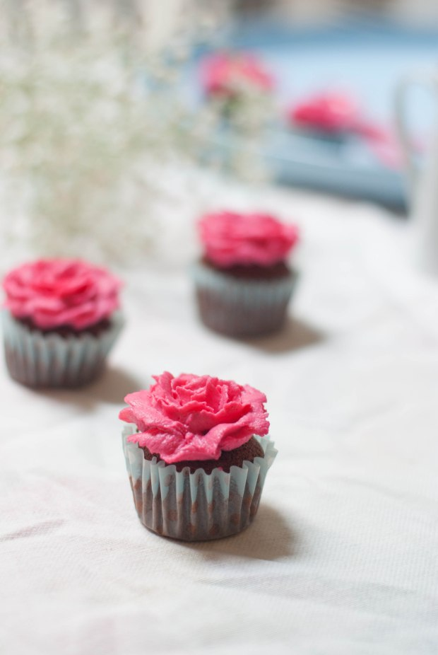 flower cupcakes 1