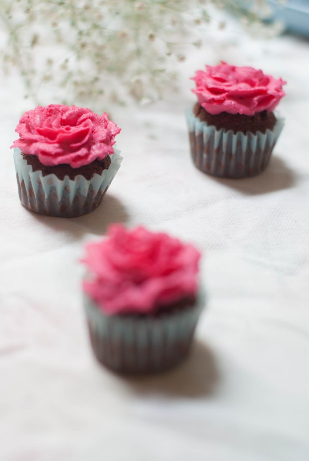 flower cupcakes 3