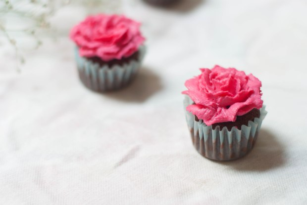flower cupcakes 4