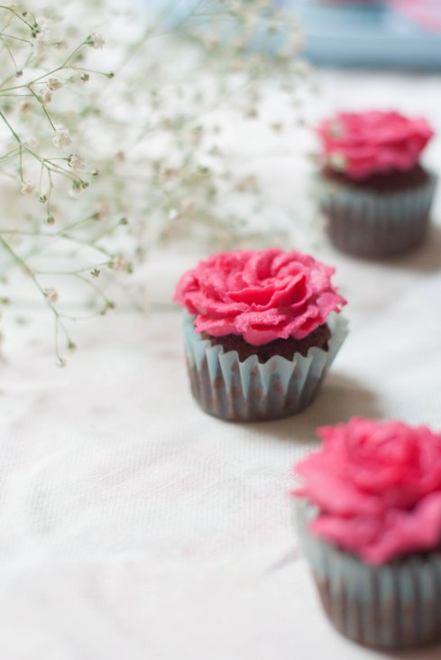 flower cupcakes 5