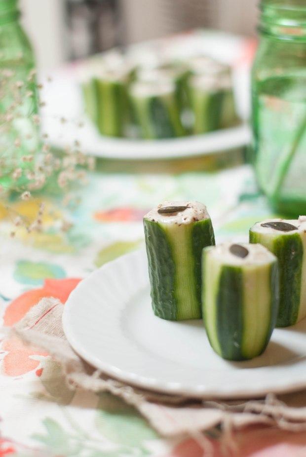 concombre mousse de thon 1