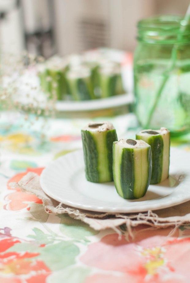 concombre mousse de thon 2