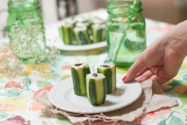concombre mousse de thon 4