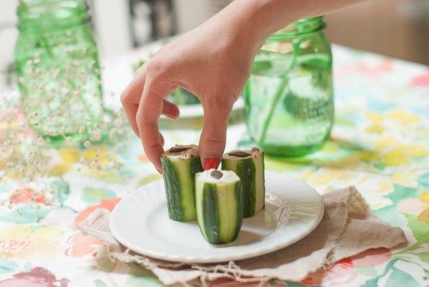 concombre mousse de thon 6