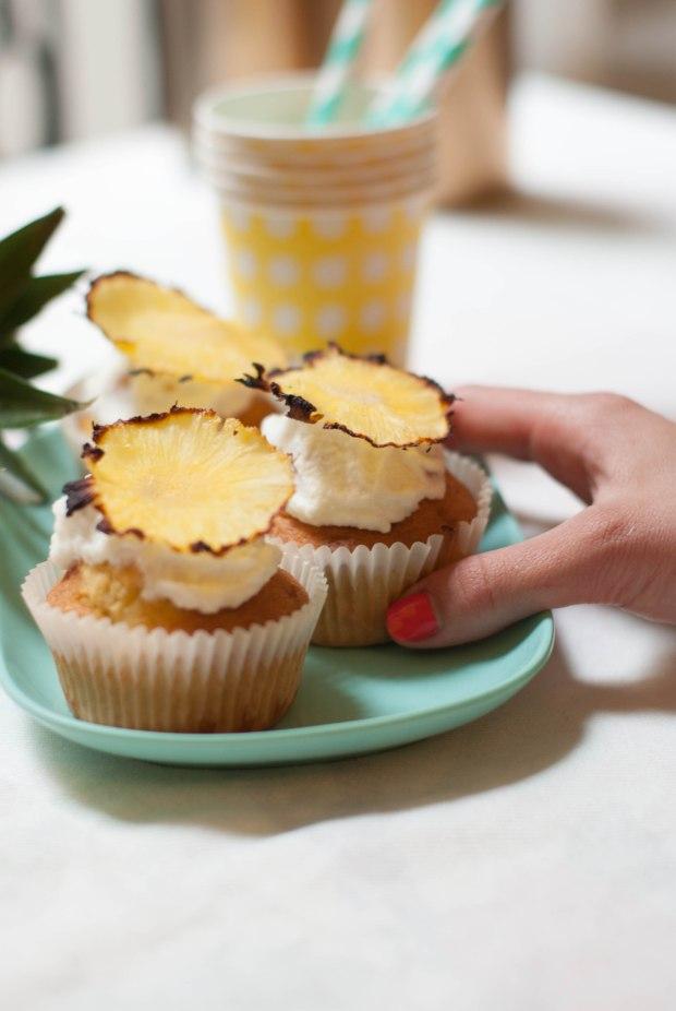 cupcake ananas