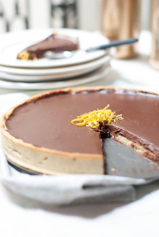 tarte chocolat citron 2