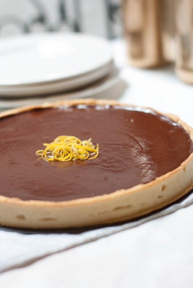tarte chocolat citron