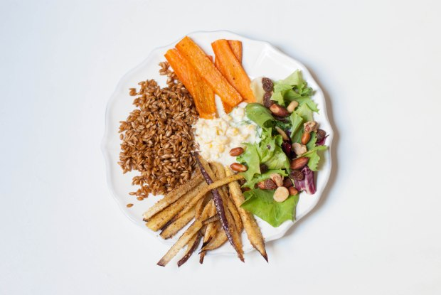assiette veggie 1