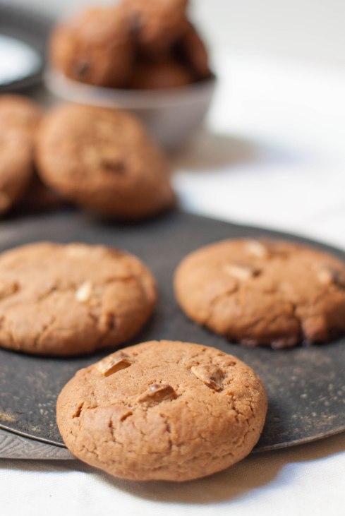 cookies chocolat caramel 2