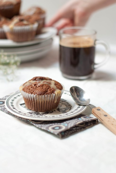 muffins chocolat caramel 1