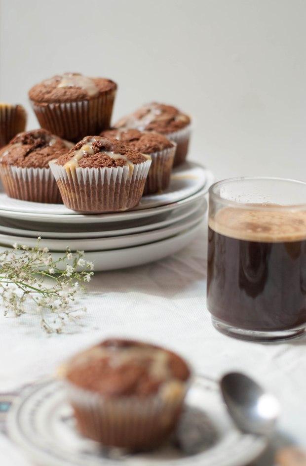 muffins chocolat caramel 2