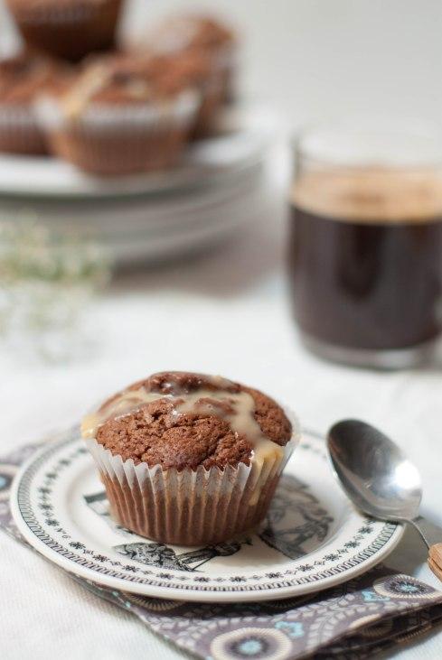 muffins chocolat caramel 3