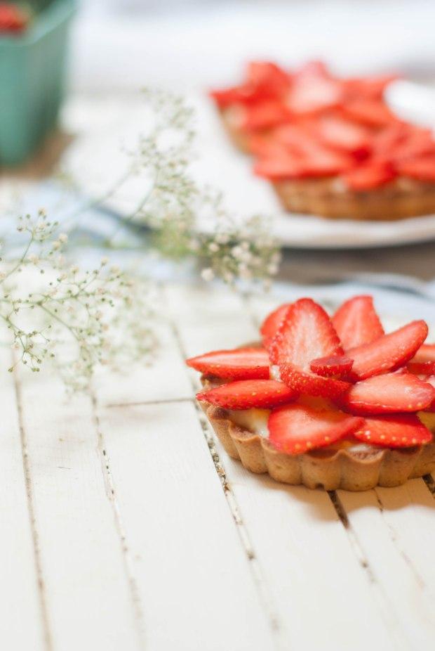 tartelettes fraise verveine
