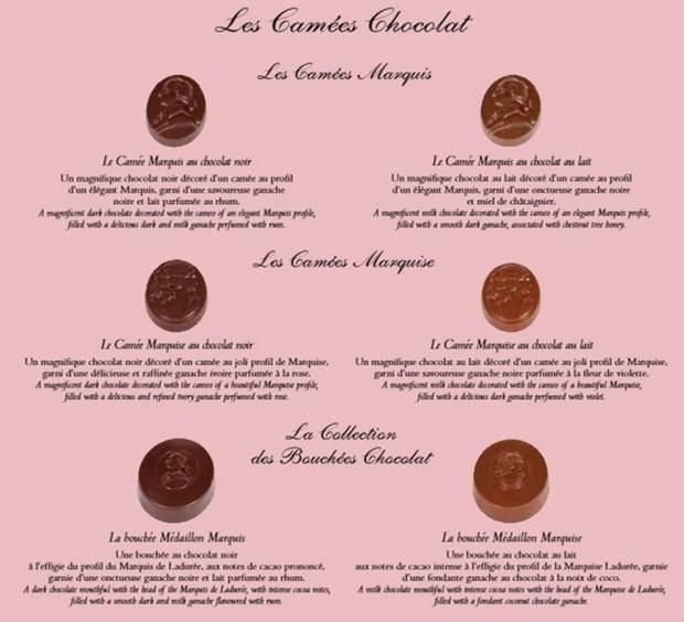 camées chocolat