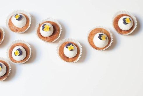 cupcakes framboises pensées-7198