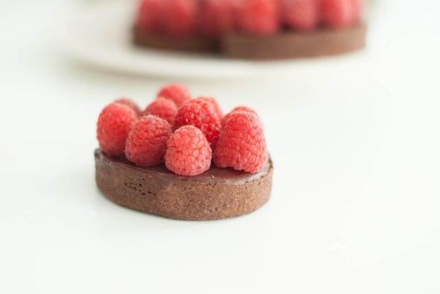tartelettes chocolat framboises-6847