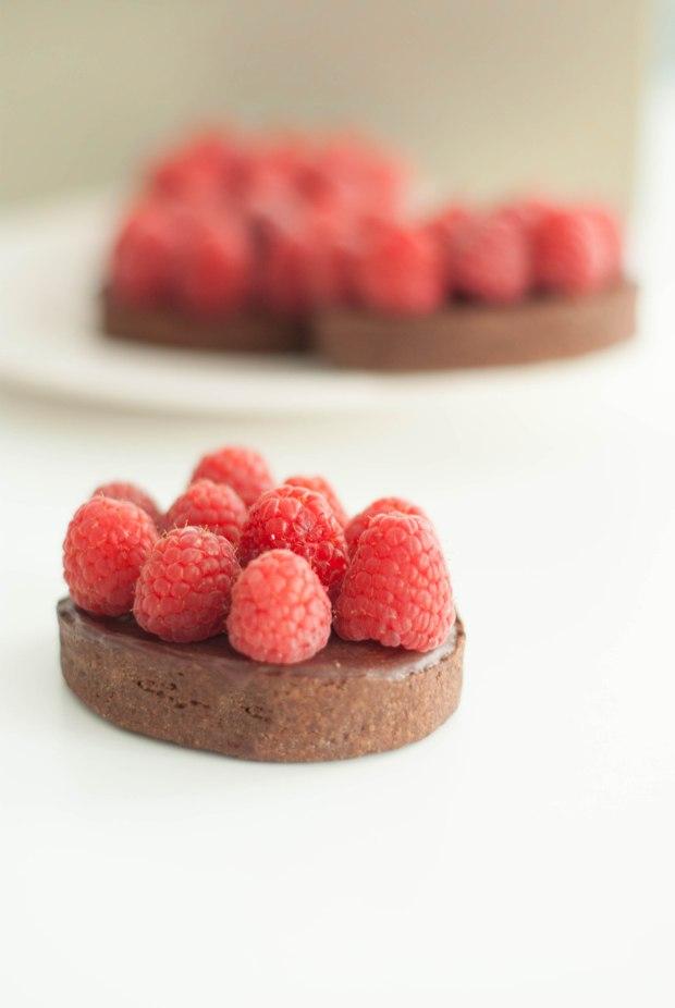 tartelettes chocolat framboises-6849