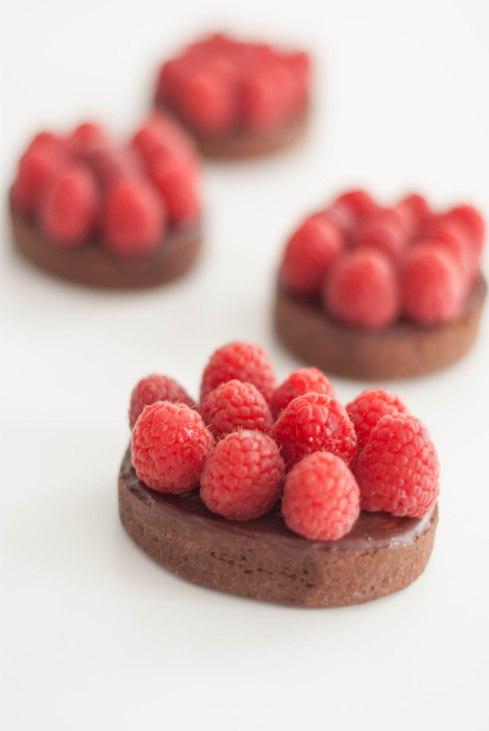 tartelettes chocolat framboises-6858
