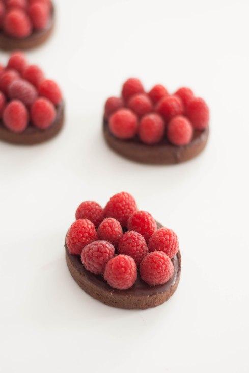 tartelettes chocolat framboises-6869