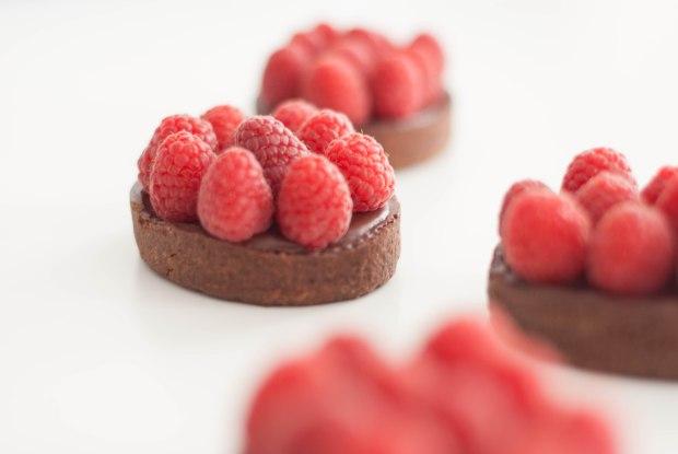 tartelettes chocolat framboises-6871