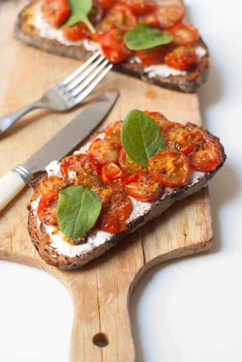 tartines tomates rôties-4