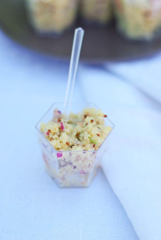 salade quinoa oignon rouge