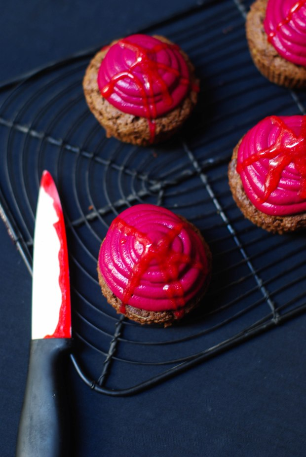 bloody cupcakes halloween