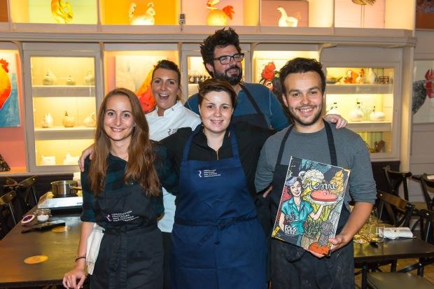 AFMR-La Brigade des Blogueurs - Les entrées - Restaurant Les Fo