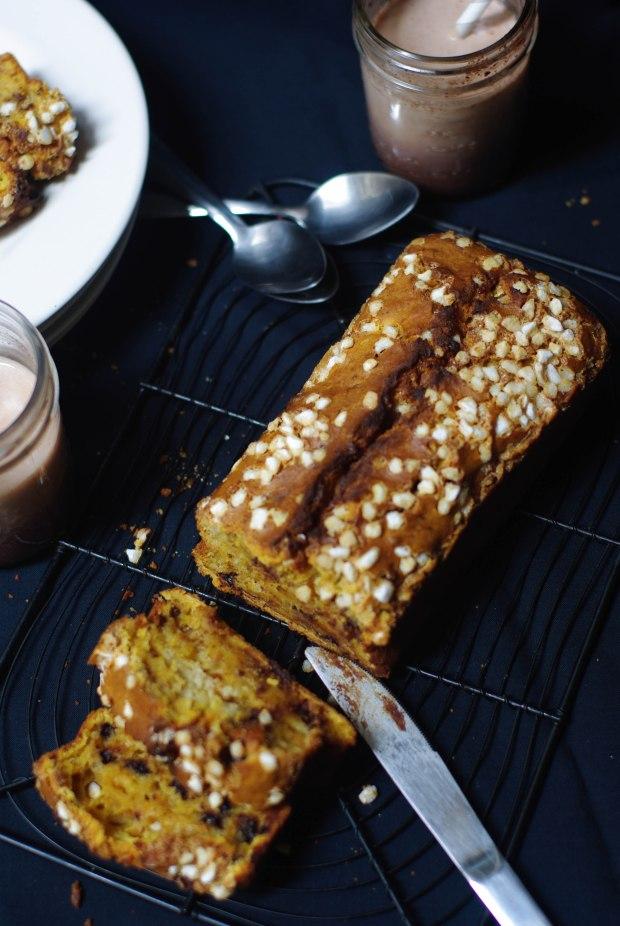 cake potiron pepites de chocolat-3
