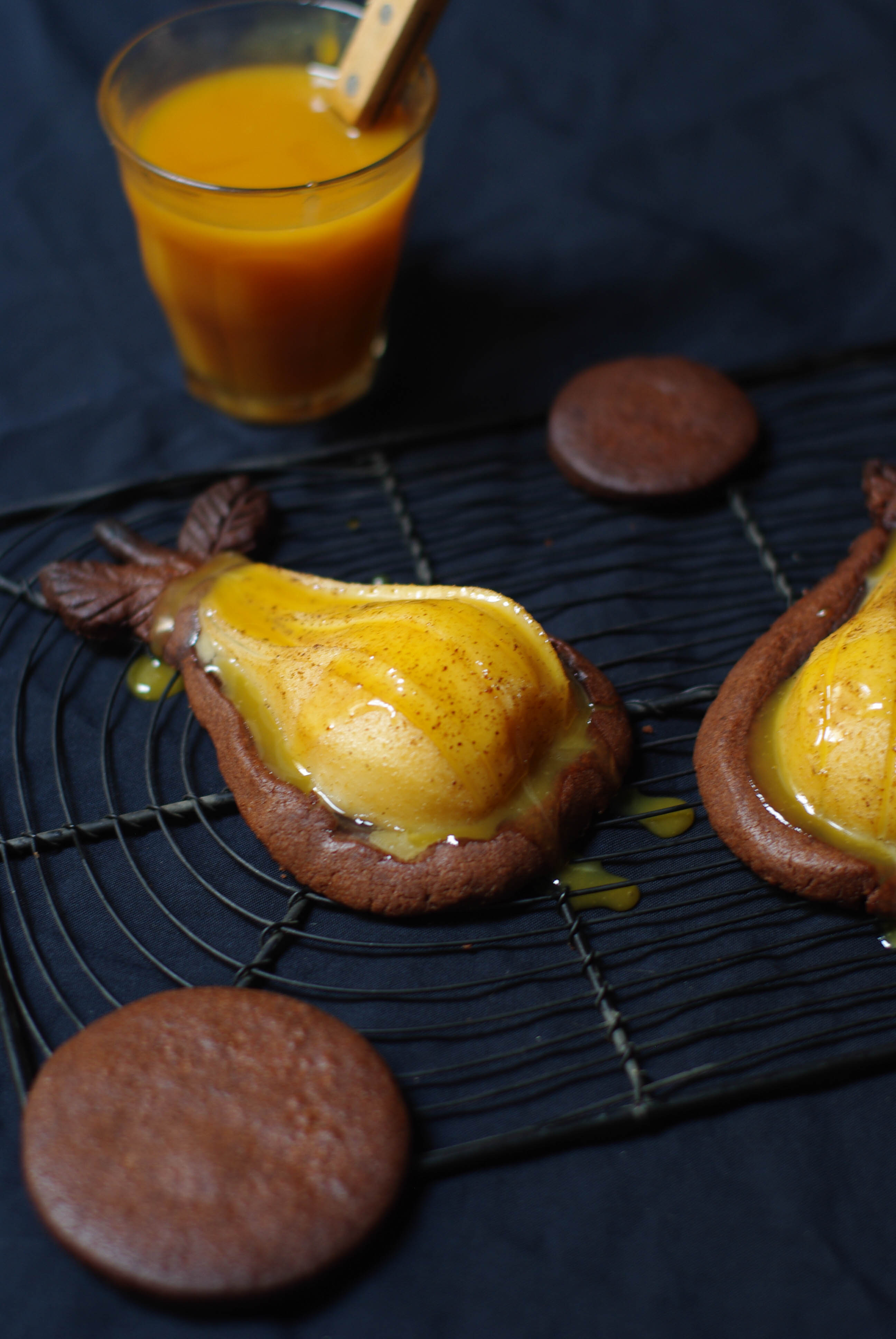 Tartelettes Poires Chocolat Et Caramel Au Beurre Salé