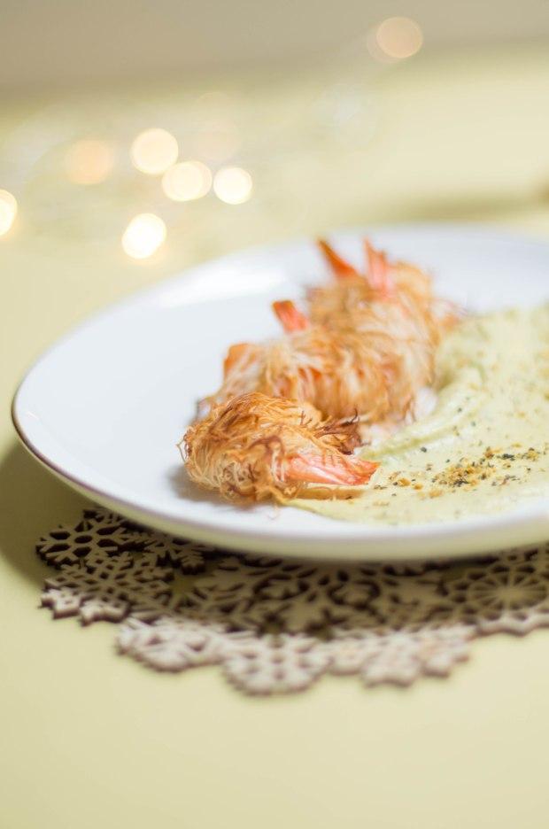crevettes kadaif creme avocat-3