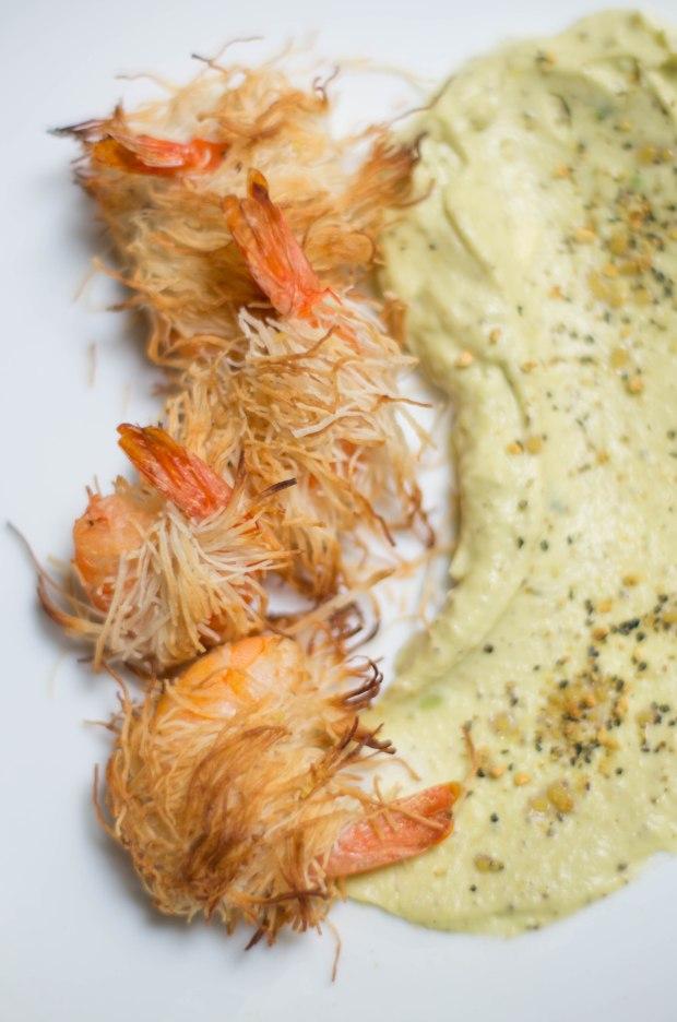 crevettes kadaif creme avocat-4