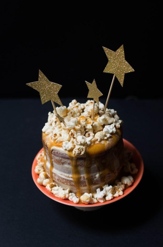 gateau noel vanille caramel pop corn-11