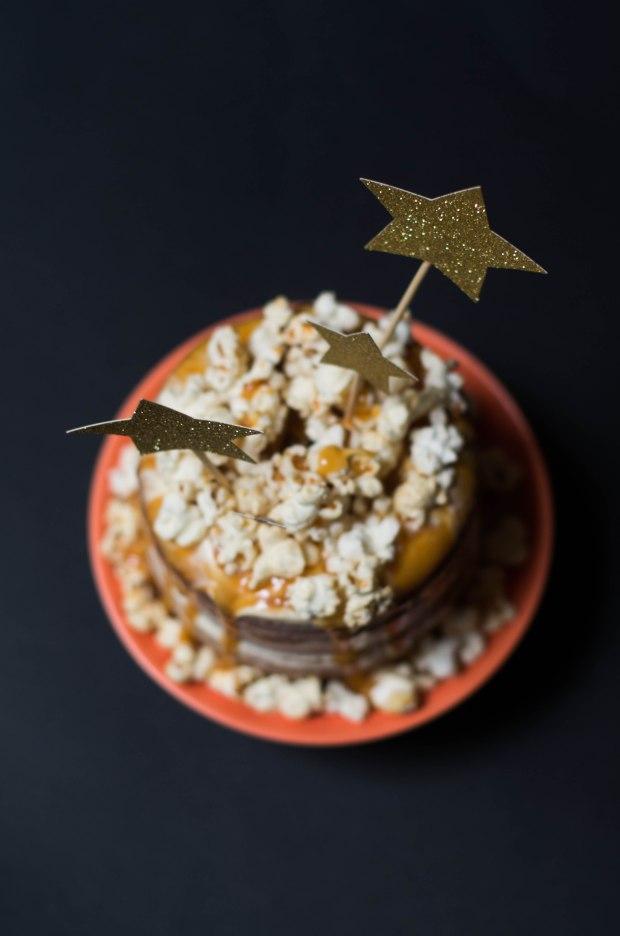 gateau noel vanille caramel pop corn-6