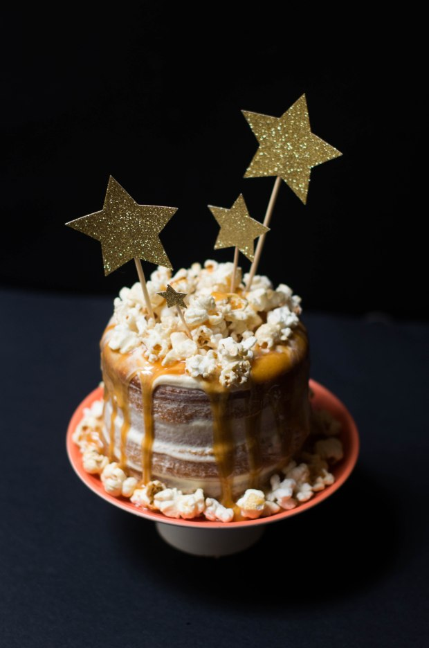 gateau noel vanille caramel pop corn-7