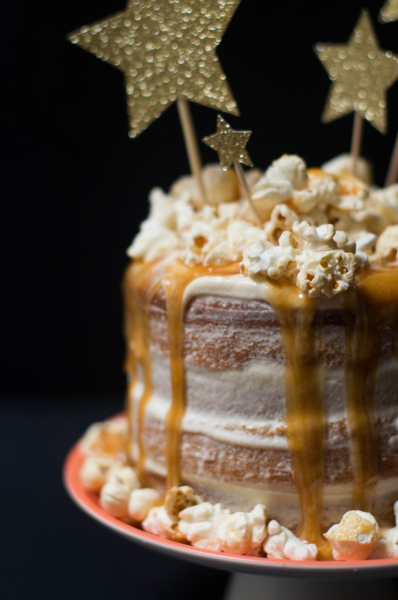 gateau noel vanille caramel pop corn-8