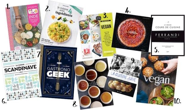 livre cuisine offrir noel