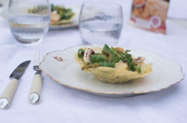 recette panier parmesan galbani salade-10