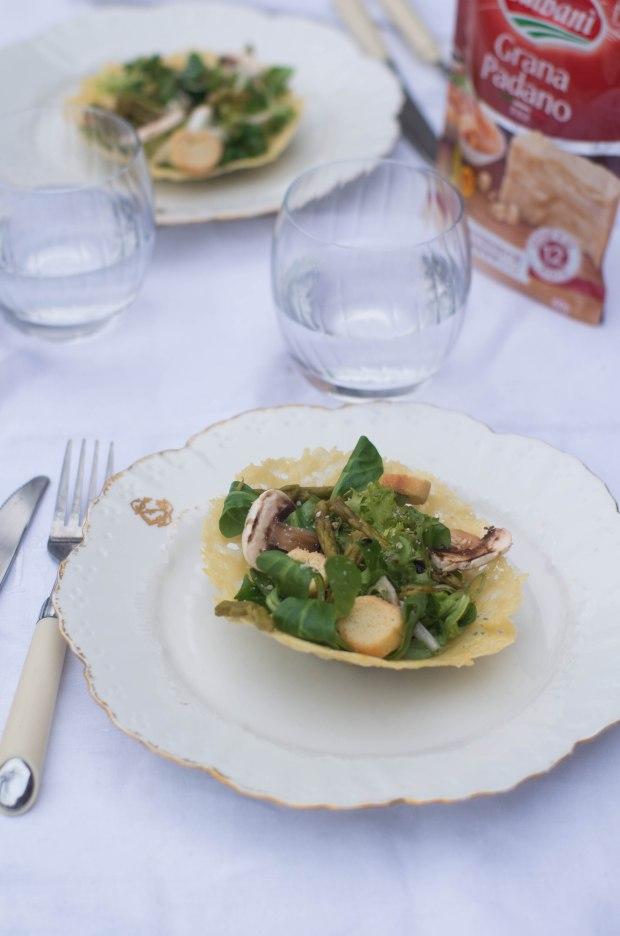 recette panier parmesan galbani salade-4