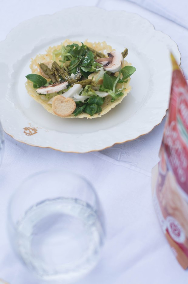 recette panier parmesan galbani salade-6