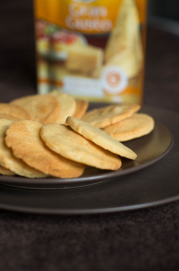 recette sable parmesan thym