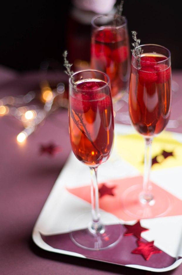 cocktail champagne rose noel-3