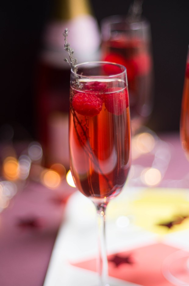 cocktail champagne rose noel-4