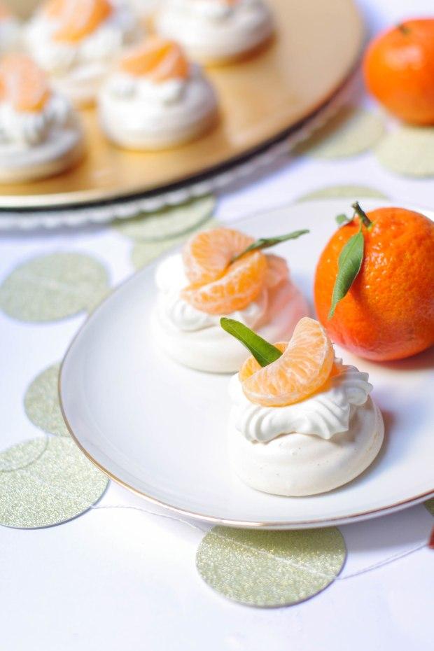 recette mini pavlova mandarines noel