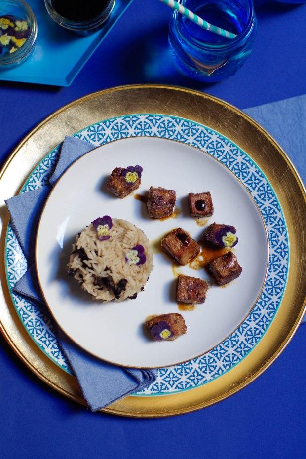 riz thai taureau aile recette bleue