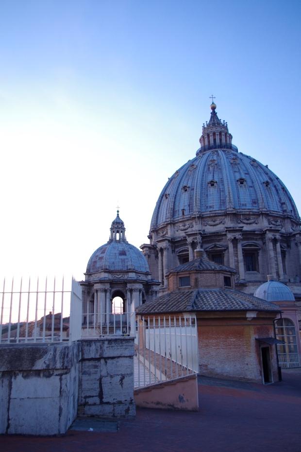 vue dome basilique saint pierre