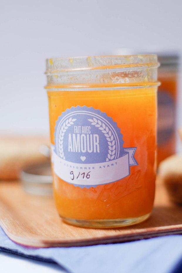 marmelade clementines fait maison
