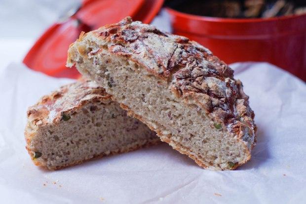 pain campagne aux pistaches