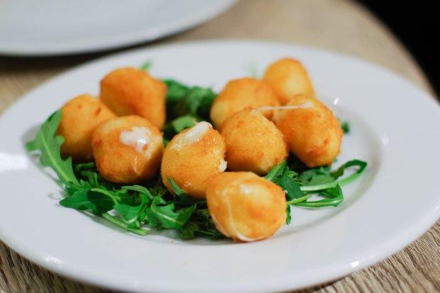 restaurant bellagio croquettes mozzarella